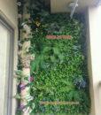 thiết kế thi công tường cây giả, cỏ giả giá rẻ
