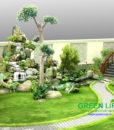 thiết kế thi công tiểu cảnh sân vườn giá rẻ uy tín1