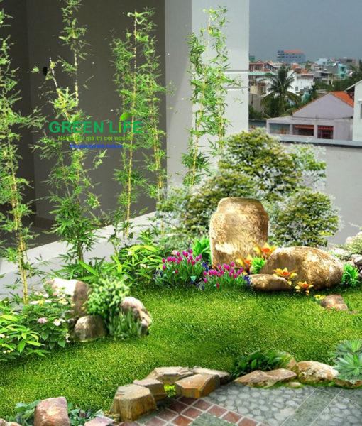 thiết kế thi công tiểu cảnh sân vườn giá rẻ uy tín22