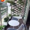 13Mẩu trang trí ban công xanh chung cư, căn hộ đẹp MS BC003