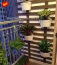 25Mẩu trang trí ban công xanh chung cư, căn hộ đẹp MS BC003