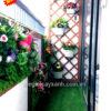 27-Mẩu trang trí ban công bằng hoa giả cho căn hộ chung cư MS BCC005